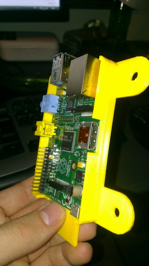 Raspberry PI wallmount chassis